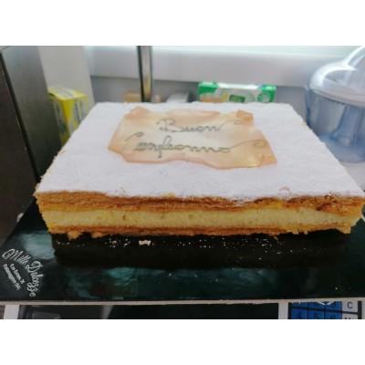 Torta Millefoglie 1 kg